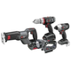Porter-Cable PCL418IDC-2 Tradesman 18V Cordless Lithium-Ion 4-Tool Combo Kit