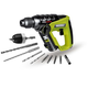 Rockwell RK2513K2 H3 12V Cordless LithiumTech 3-in-1 Rotary Hammer Kit