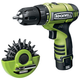 Rockwell RK2510K2.1 12V Cordless LithiumTech 3/8 in. Drill Driver Kit