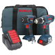 Bosch CLPK24-180 18V Cordless Lithium-Ion 3/8 in. Drill Driver and Impact Driver Combo Kit