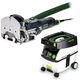 Festool PD574332 Domino Mortise and Tenon Joiner with CT MIDI 3.3 Gallon Mobile Dust Extractor