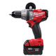 Milwaukee 2604-22 M18 FUEL 18V Cordless Lithium-Ion Hammer Drill with XC Batteries