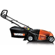 Worx WG718 13 Amp 19 in. 3-in-1 Electric Lawn Mower