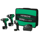 Hitachi KC10DAL HXP 10.8V Cordless Lithium-Ion 3-Tool Combo Kit