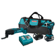 Makita LXT246 LXT 18V Cordless Lithium-Ion 1/4 in. Impact Driver and Oscillating Tool Combo Kit