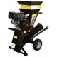 Stanley CH5 420cc 15 HP Gas Commercial-Duty Two-Way Feed Chipper Shredder with 4 in. Feeder