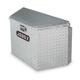 Delta Pro/JOBOX 415000D 33 in. Long Aluminum Trailer Tongue Box - Bright
