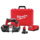 Factory Reconditioned Milwaukee 2429-81XC M12 12V Cordless Lithium-Ion Sub-Compact Band Saw Kit with XC Battery