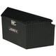 Delta Pro/JOBOX 415002D 33 in. Long Aluminum Trailer Tongue Box - Black