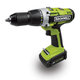Rockwell RK2810K2 18V Cordless Lithium-Ion 1/4 in. LithiumTech Drill Driver