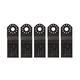 Bosch OSC118F-5 1-1/8 in. BIM Wood/Metal Plunge Blade (5-Pack)