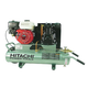 Hitachi EC25E 8 Gallon 5.5 HP Oil-Lubricated Horizontal Air Compressor with Control Panel