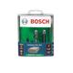 Bosch RBS020XW 3-Piece 1/4 in. Shank Laminate Trim Router Bit Set