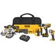 Factory Reconditioned Dewalt DCK491L2R 20V MAX Cordless Lithium-Ion 4-Tool Combo Kit