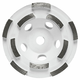Bosch DC4510H 4-1/2 in. Diameter Double Row Diamond Cup Wheel