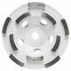 Bosch DC4510H 4-1/2 in. Diameter Double Row Diamond Cup Wheel