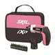 Skil 2354-04 4V Max Cordless Lithium-Ion iXO Palm-Sized Driver with Right Angle Attachment and 10-Piece Bit Set