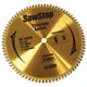 SawStop BTS-P-80HATB 10 in. 80 Tooth Titanium Series Premium Saw Blade