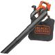 Black & Decker LSWV36B 40V MAX Cordless Lithium-Ion Single-Speed Handheld Mulcher Blower Vac (Tool Only)