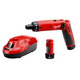 Milwaukee 2101-22 4V Cordless M4 Lithium-Ion 1/4 in. Hex Screwdriver Kit