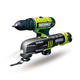 Rockwell RK1002K2 LithiumTech 12V Cordless Lithium-Ion Oscillating Tool Kit with FREE Drill Driver