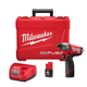 Milwaukee 2453-22 M12 FUEL 12V Cordless Lithium-Ion 1/4 in. Hex Impact Driver