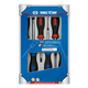 King Tony 31216MR 6-Piece Phillips/Slotted Screwdriver Set with Storage Box