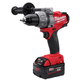 Factory Reconditioned Milwaukee 2603-82 M18 FUEL 18V Cordless Lithium-Ion Drill Driver with XP Batteries