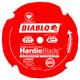 Diablo D0704DH 7-1/4 in. 4 Tooth Fiber Cement HardieBlade Saw Blade