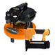 Powerworks 41282 3 Gallon Pancake Air Compressor with Brad Nailer and 10-Piece Accessory Kit