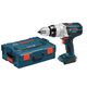 Bosch HDH181BL 18V 1/2 in. Hammer Drill Driver (Bare Tool) with L-Boxx-2 and Exact-Fit Tool Insert Tray
