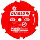 Diablo D0706CH 7-1/4 in. 6 Tooth Fiber Cement HardieBlade Saw Blade