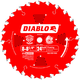 Diablo D0824X 8 in. - 8-1/4 in. 24 Tooth Framing Saw Blade