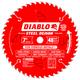 Diablo D0748FM 7 in. 48 Tooth Steel Demon Ferrous Metals Saw Blade