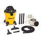 Shop-Vac 9650600 6 Gallon 3 Peak HP Hardware Store Pro Wet/Dry Vacuum