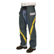 Husqvarna 508392801 Grey Protective Chaps with Yellow Stripe