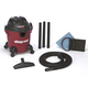 Shop-Vac 5940500 5 Gallon 2.0 Peak HP Quiet Series Wet/Dry Vacuum