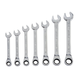 Stanley 94-543W 7-Piece Metric Ratcheting Wrench Set