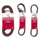 Milwaukee 49-93-8115 1/2 in. x 18 in. Aluminum Oxide 60-Grit Belts (10-Pack)