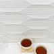 Byzantine Bianco 3D Ceramic Subway Tile