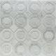 Helix Carrara Marble & Glass Tile
