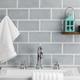 Nabi Arctic Blue 3x6 Ceramic Tile