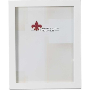 Lawrence Frames 5 X 5 Studio Wood White Picture Frame 755855