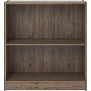 About Ameriwood Hayden 2 Shelf Bookcase Grey Sonoma Oak 30H 96