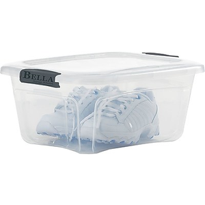 About: Bella Storage Solution® 5.5 Quart Plastic Locking Lid Contai... Nice  Plastic Container