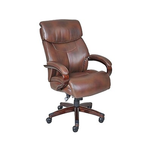 About La-Z-Boy Bradley Bonded Leather Executive Chair Fixed Arms.  sc 1 st  Staples : easy boy chair - Cheerinfomania.Com