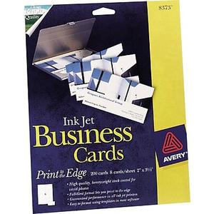 About AveryR Inkjet Business Cards Glossy White 2 X 3 1