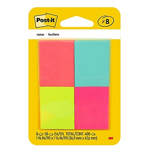 Post It Page Markers Assorted Colors 1 2 500 Markers Pack Staples