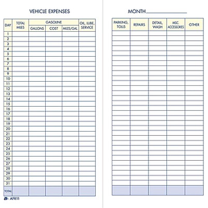 adams vehicle mileage record book 3 1 4 x 6 1 4 staples