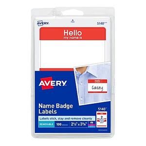 Avery 139715144 print or write name badges blue border 2 1132 about avery print or write name tags hello red border 2 1 maxwellsz